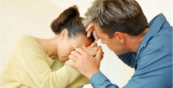 Разговор мужа с женой