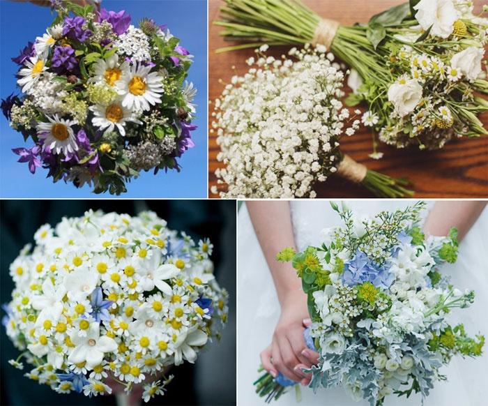 Недорогие и красивые композиции дикорастущих цветов