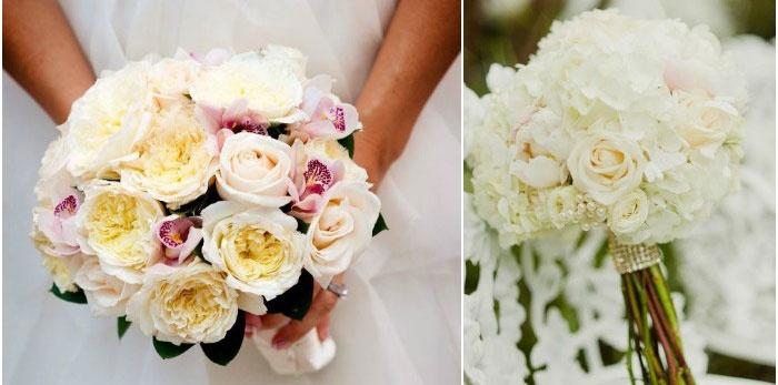 Изысканный букет невесты