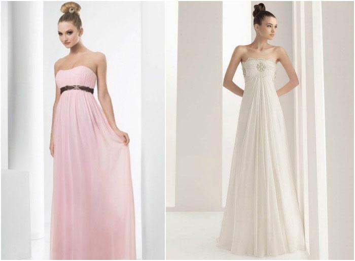 Элегантные платья ампир