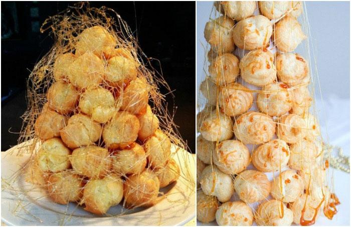 Крокембуш – французский свадебный торт