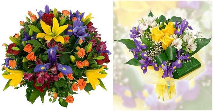Великолепное сочетание двух видов растений