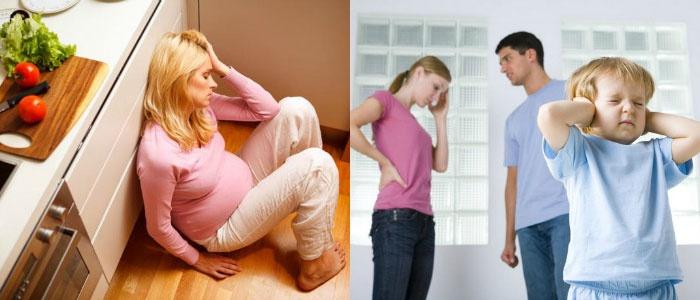 Жена беременна и не хочет секса