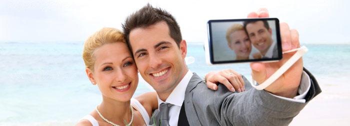 Световое решение для свадебной фотографии