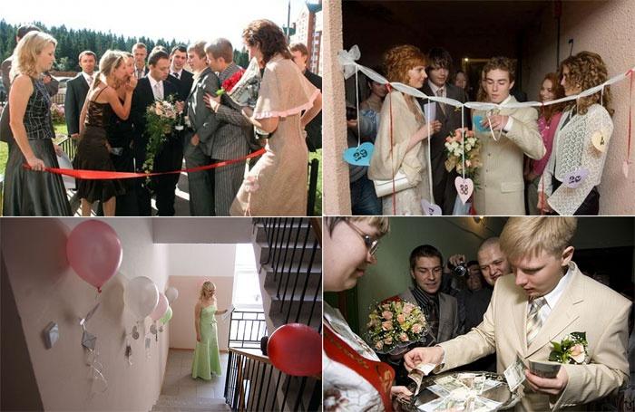 Выкуп невесты – часть свадебной программы