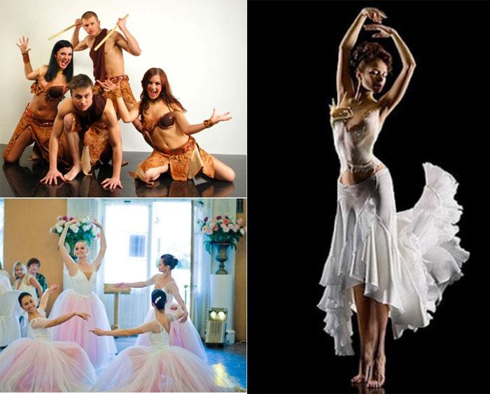 Шоу программа артистов балета на свадьбе