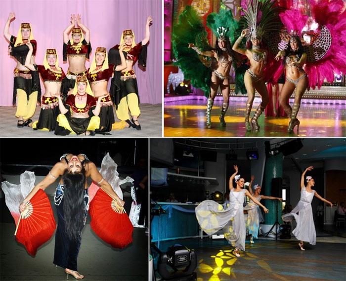 Танцевальные коллективы в свадебной шоу программе