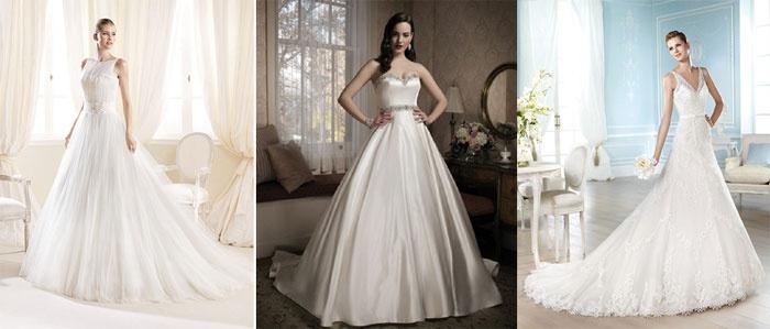 Классическое одеяние на свадьбу