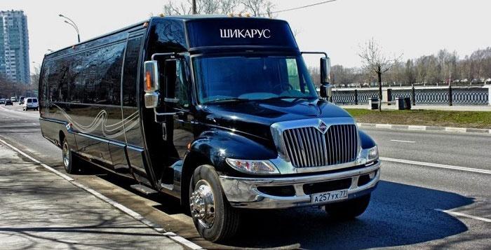 Модель Лимо: клубный автобус