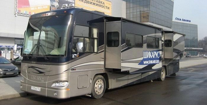 Делюкс Лунный: клубный автобус