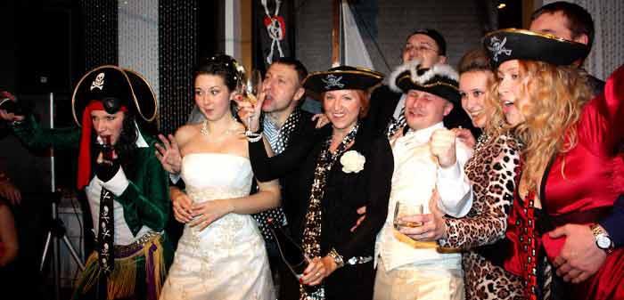 Тематическое свадебное торжество