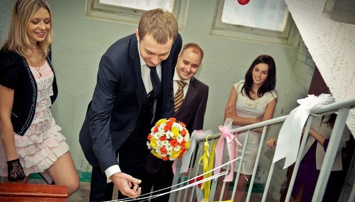 Выкуп невесты в процессе интеллектуального конкурса