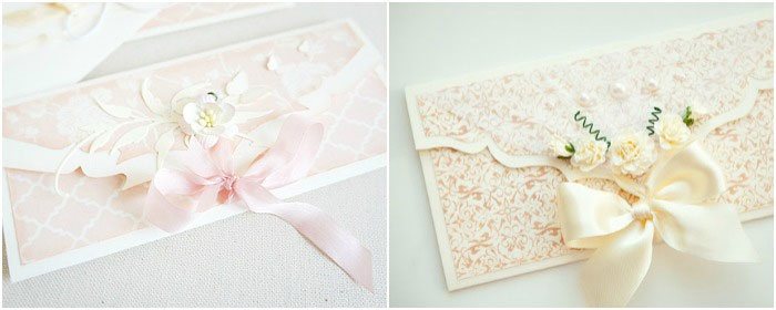 Красивые свадебные денежные конверты