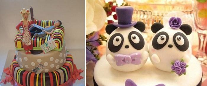Торт для свадьбы: сахарная мастика