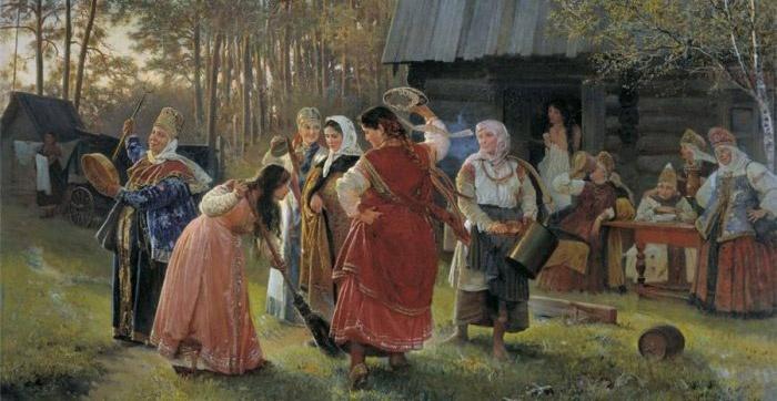 Древние обычаи сватовства на Руси