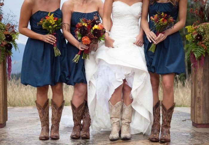 Сапоги для свадьбы