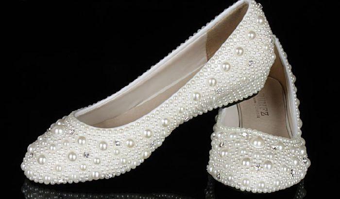 Советы по выбору цвета свадебной обуви