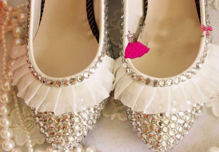 Туфли без каблука: выбор современных невест