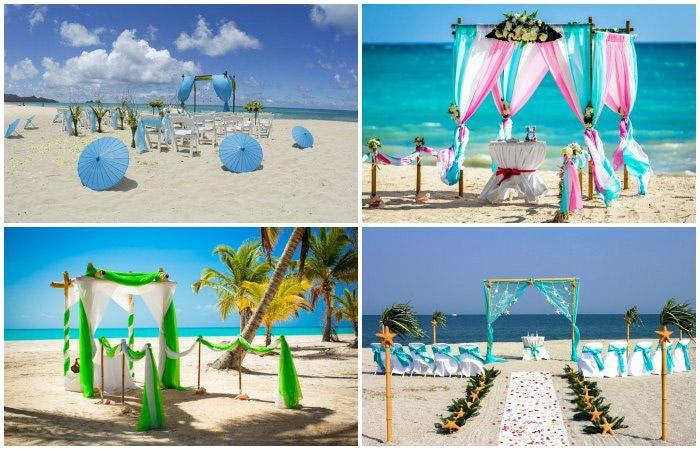 Выбор удачного места для росписи на пляже