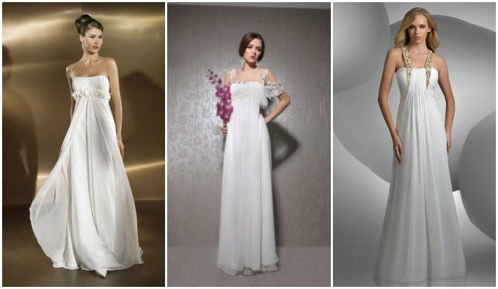Модное платье в стиле ампир