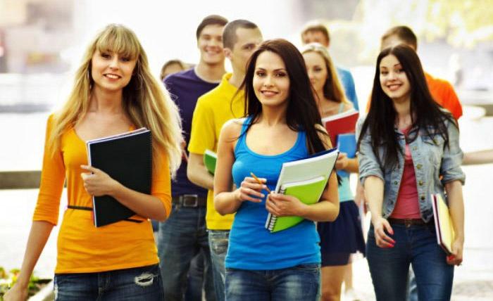 Студенты института