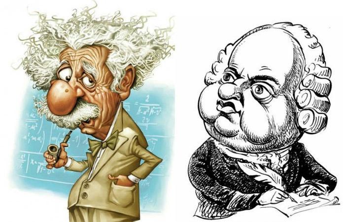 Карикатуры ученых