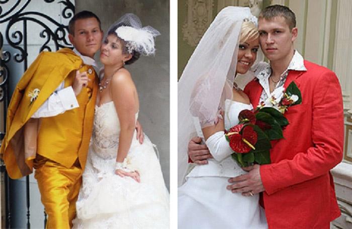 Жениху не воспрещается быть ярче невесты