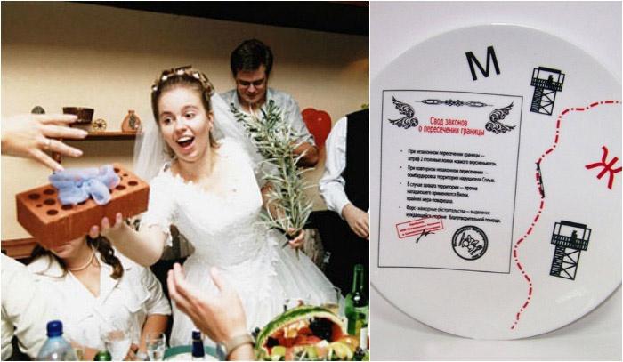 Прикольные смешные подарки на свадьбу