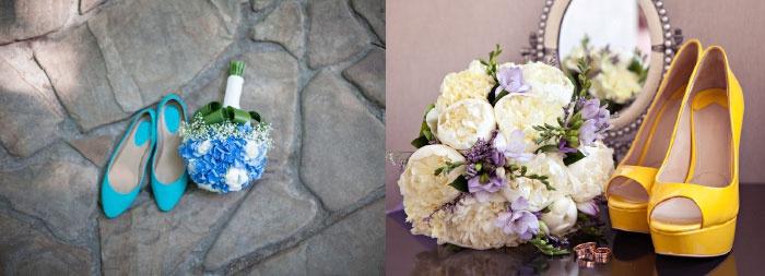 Модный цвет обуви для невесты