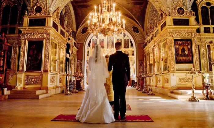 Венчание в церкви после свадьбы