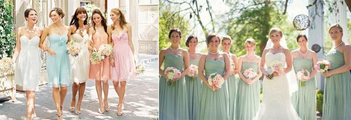 Варианты платьев на свадьбу