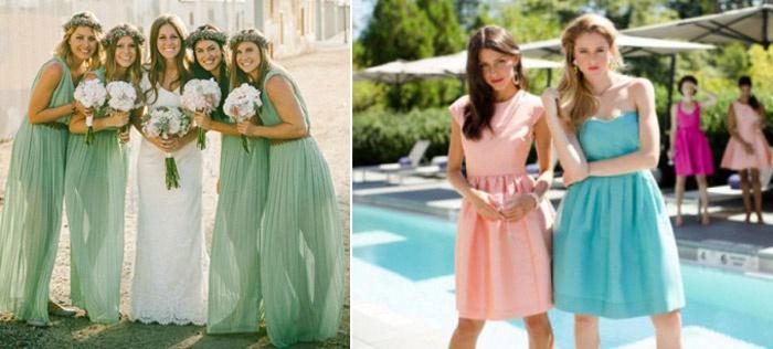 Платья на свадьбу для подруги невесты фото