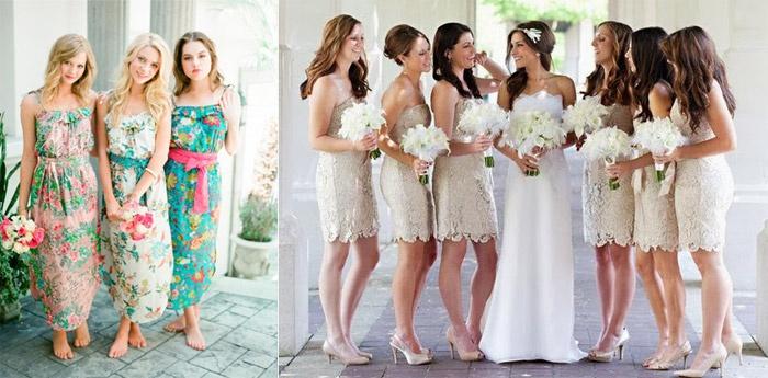Модная одежда дружки на свадьбу