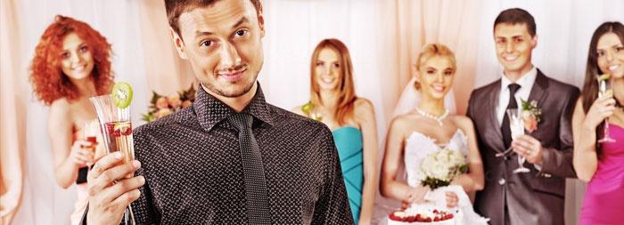 Игры для нетрезвой компании на свадьбу