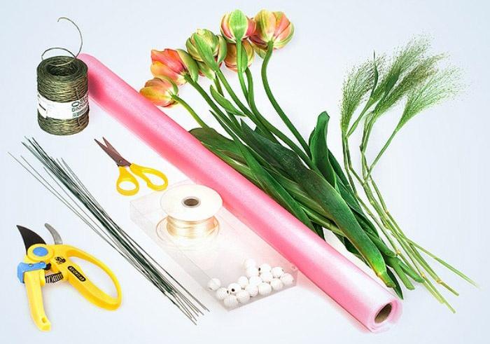 Аксессуары для создания свадебного букета своими руками