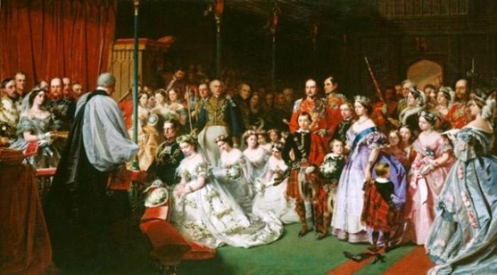 Свадьба коронованных особ под аккомпанемент марша Мендельсона