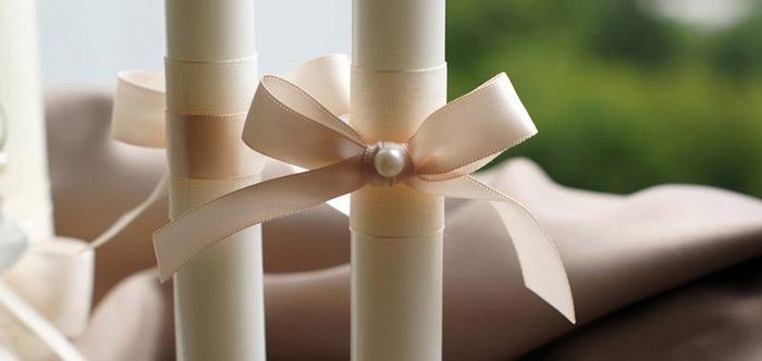 Свадебные свечи – символичное украшение торжества