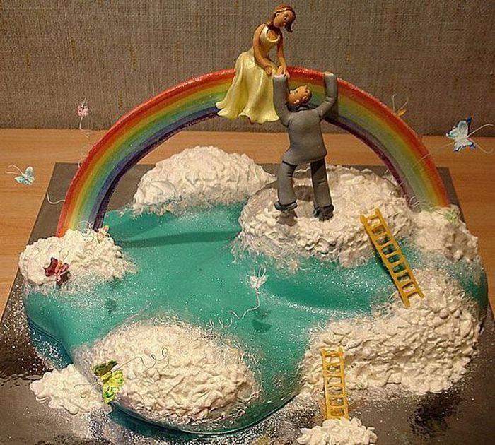 Креативные свадебные десерты