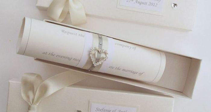 Пригласительная открытка на свадебное торжество