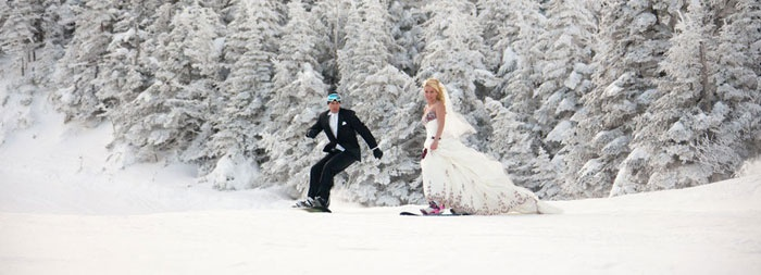 Сноуборд VS свадьба: вместе или врозь
