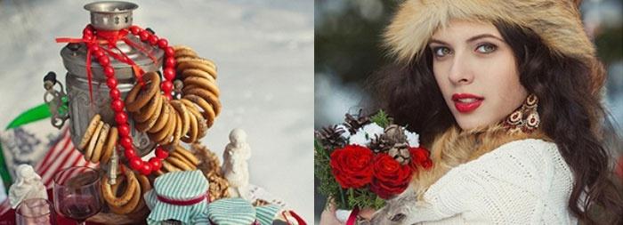 Свадебная фотосъемка зимой: яркие акценты