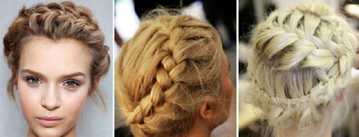 Виды плетений на волосы средней длины