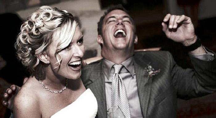 Поздравления на свадьбе должны нести позитив