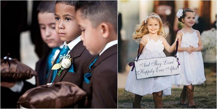 Участие детей в свадебном празднике