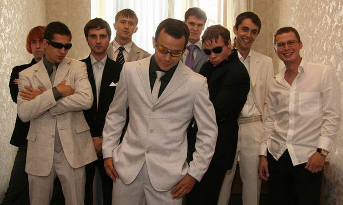 Как не нужно одеваться мужчине на свадьбу