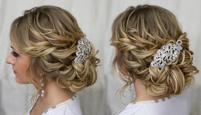 Варианты свадебных укладок волос