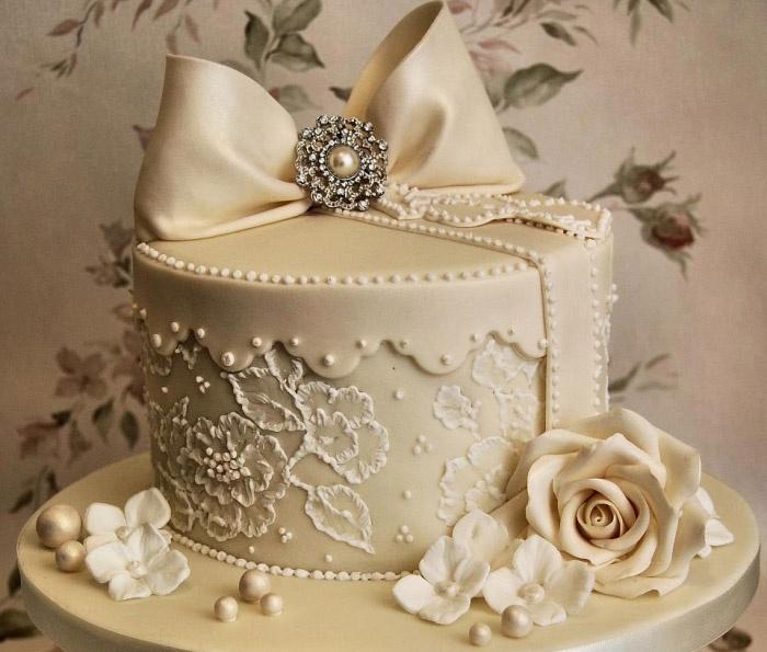 Начинка для свадебного десерта с мастикой