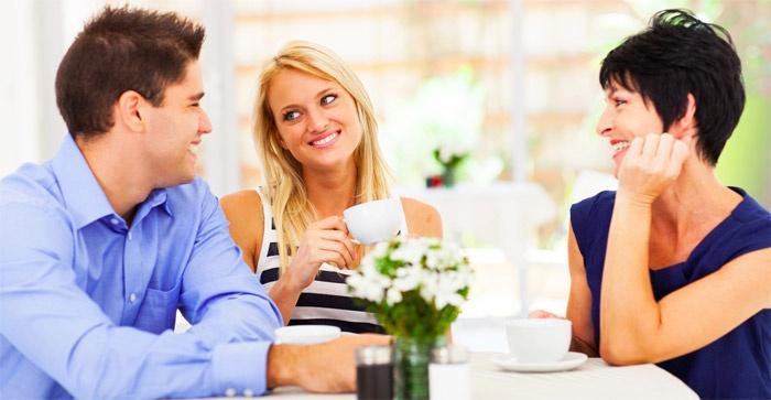 Ведите себя сдержанно при родных возлюбленного
