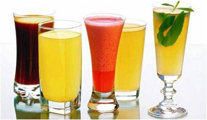 Вкусные варианты безалкогольных напитков