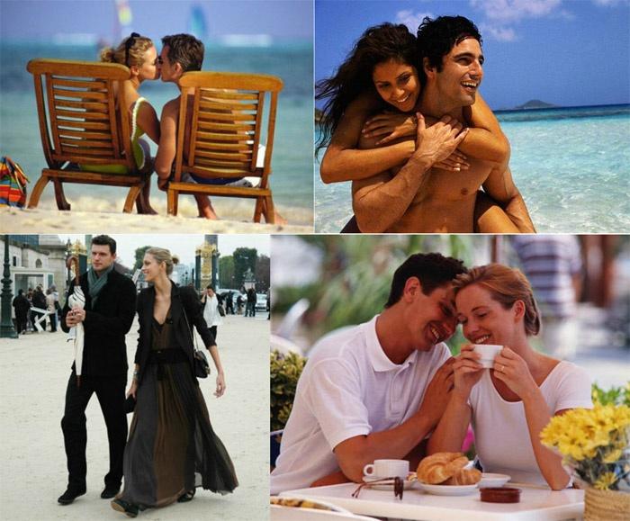 Жена проводит с мужем выходные и отпуск